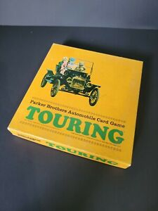 Vintage 1965 Parker Brothers Touring Automobile Card Game Sealed Cards