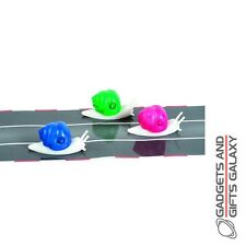 RACING SNAILS x 3 WIND UP + RACE TRACK gadget gift toy novelty adult child