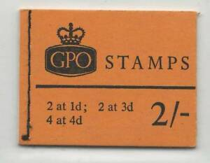 GB  July 1968  MNH Complete Stamps Booklet  2/- GPO