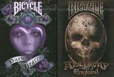 Lot 2 Deck Bicycle Anne Stokes V2 & Alchemy England 1977 Version 2 Playing Cards