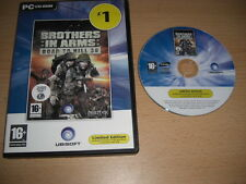 Brothers in arms road to hill RTH 30 PC CD ROM UBI-Rapide Post