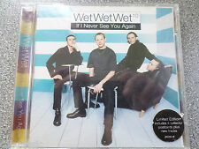 WET WET WET - IF I NEVER SEE YOU AGAIN -  CD - 4 TRACK SINGLE
