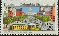2561 District Of Columbia Bicentennial US Single Mint/nh (Free shipping offer)