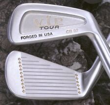 NOS Pre 1992 MacGregor VIP TOUR FORGED IRONS 3-PW (8 irons) Steel RH-R