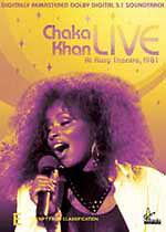 CHAKA KHAN  Live at Roxy Theatre '81 Brand New DVD