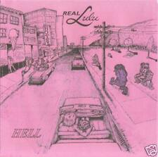 "REAL LULU - ""HELL""/""MOTORHEAD"" - 7"" - 1995 - BLACK WAX"