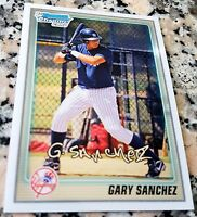 GARY SANCHEZ 2010 Bowman Chrome Rookie Card RC New York Yankees HR Power HOT