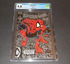 Spider-Man 1 CGC 9.8 (Silver Edition)   Marvel 1990 Todd McFarlane  Lizard App