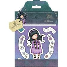 LITTLE SONG-Docrafts Santoro Gorjuss Cling Rubber Stamp-Stamping Craft-Girl