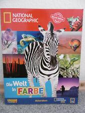 Panini National Geographic Spezial Edition Stickeralbum Aldi unbenutzt