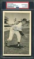 Don Drysdale PSA DNA Cert Signed Dodgers Postcard Autograph