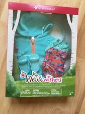 AMERICAN GIRL/WELLIE WISHERS FUN FISH SWIMSUIT & COVERUP FOR WELIE DOLLS 2017