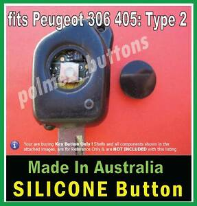 fits Peugeot 305 306 406 remote- Repair Key BUTTON if switch has intact tip