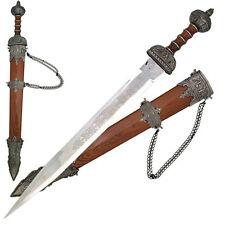 """31.5"""" MEDIEVAL ROMAN CENTURION SWORD Gladius Stainless Steel Blade"""