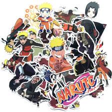 (63pc) anime Stickers Naruto Sasuke Itachi Sakura for Skateboard/Luggage/Laptop