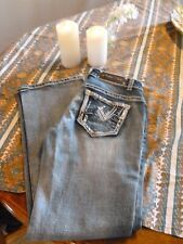 Cedar Rose Jeans, size 28x31! Beautiful stitching with bling! Free Shipping!