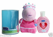 Peppa Pig Bagno Burattino bagnoschiuma e docciaschiuma 250 ml Compleanno Set