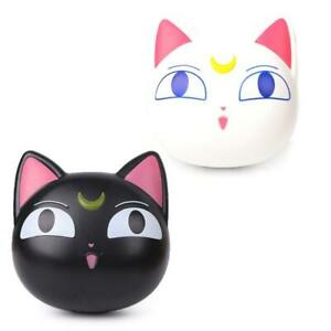 Lens Box Cartoon Cute Cat Portable Contact Storage Case Mirror Container Holder