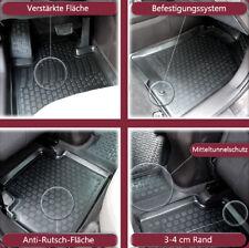 3D Premium Gummifussmatten SUZUKI GRAND VITARA II mTunnel 3 trg 05-15 Antirutsch