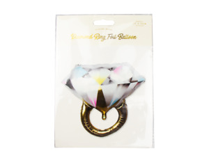 Diamond Ring Engagement Party Wedding Celebration Foil Helium Balloon Decor