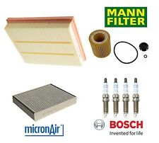 BMW F22 F23 228i 428i F30 320i 328i 2.0L Air Oil Filter Spark Plugs Tune Up Kit