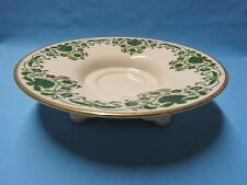 Lenox Ivory-Green Foliage Design With Gold Trim Pedestal Serving Bowl Bowls