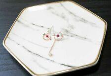 Handcrafted Elegant Korean Style Dangling Earring Cupid Heart Arrow for Women