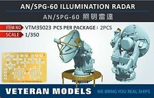 Veteran 1/350 USN AN/SPG-60 ILLUMINATION Radar resin