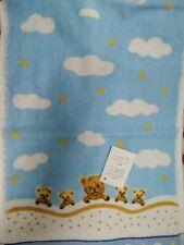 Baby Children Bath Shower Cotton Towel ~ Blue
