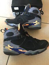 """Retro Jordans 8 """"Phoenix Suns"""" size 12"""