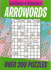 Arrowords (Arrow Words) Pocket Puzzle Book - Over 200 Puzzles - New