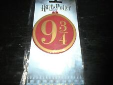 Harry Potter Train Platform 9¾ Luggage Tag New and sealed