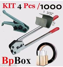 """Tensioner and Cutter 1/2""""  to 5/8""""  + Strapping Poly Crimper +1000 OP KIT4-1000"""