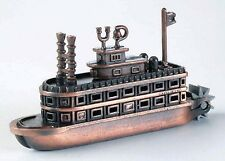 Steam Boat with Paddle Wheel Die Cast Metal Collectible Pencil Sharpener