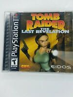 Tomb Raider - Featuring Lara Croft (Sony PlayStation 1, PS1, 1996) Complete