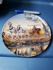 """Vintage """"OKLAHOMA"""" 1985 Knowles Collector 8.5"""" Plate--2nd Issue in The Series"""