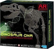 New 4M T-REX Dinosaur DNA KIT Glow In The Dark Plaster Jurassic Skeleton Ages 8+