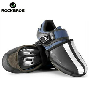 ROCKBROS Cycling Shoe Covers Thermal Shoes Toe Cover Windproof Half Shoecovers
