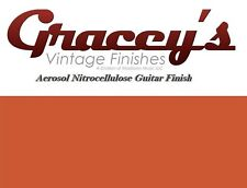 -Coral Pink- Gracey's Vintage Finishes Nitrocellulose Guitar Lacquer Aerosol.
