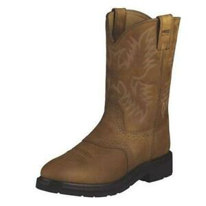 10002304 Ariat Men's Sierra Saddle Boot - Aged Bark NEW