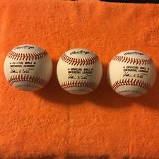 16 VINTAGE NATIONAL & AMERICAN LEAGUE BASEBALLS (1) 2000 Mets & Yankees  WS Ball