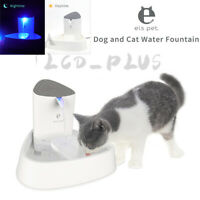 1.8L Automatic Electric Pet Water Fountain Dog Cat Drinking Dispenser / Filter