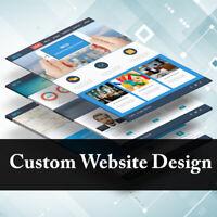 Website Design Service Custom Business Website For Sale! Mobile Friendly Added!