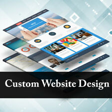 Website Design Service Custom Business Website For Sale! Mobile Friendly Added!