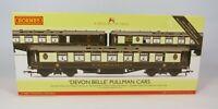 OO Gauge Hornby R4380 Devon Belle Pullman Car Coach Pack - 3 Coaches