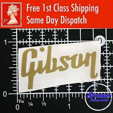Gibson Guitar Headstock Decal Logo Vinyl Restoration Project Sticker *11 Colour*