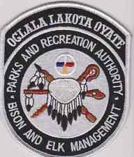South Dakota Oglala Lakota Oyate Biologists Game Warden Tribal Police Patch