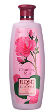 "Latte detergente ""Rose of Bulgaria "",con acqua di rosa naturale,330ml"