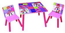 Fashion Girl Table & Chair set