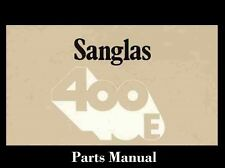 SANGLAS 400E 400 E S  PARTS MANUALS Set 50pg for Spanish for Motorcycle Repair